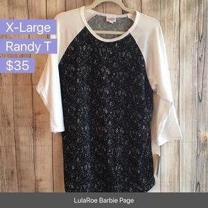 Lularoe Randy T size xl NWT